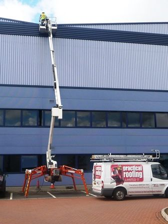 High Level Access Equipment by The Stratford Roof Company